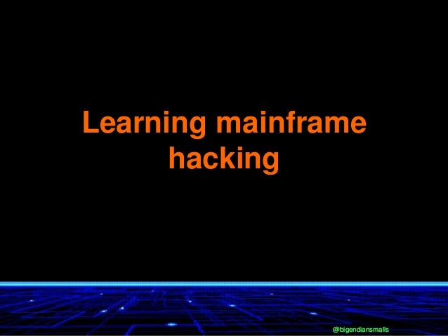 @bigendiansmalls@bigendiansmalls Learning mainframe hacking