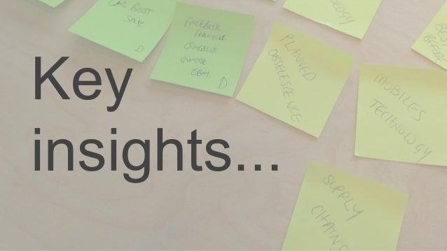 Key insights...