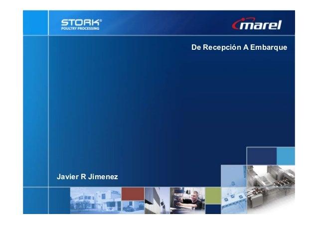 De Recepción A Embarque Javier R Jimenez