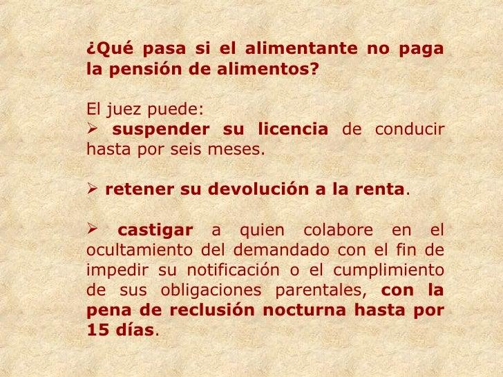 Clase sobre derecho de alimentos - Actualizacion pension alimentos ipc ...