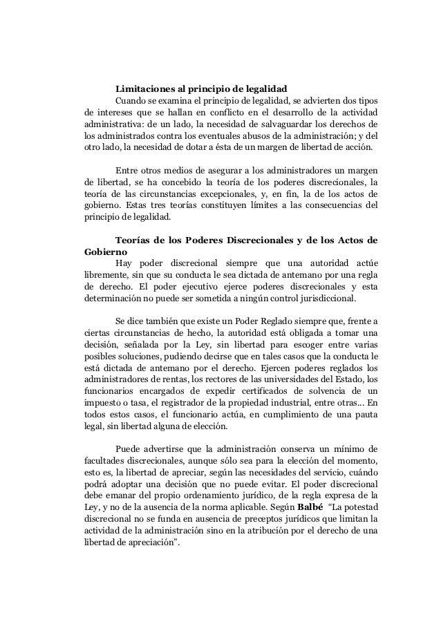 Legalidad de los actos juridicos