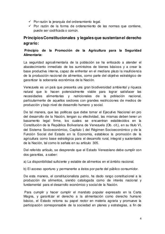 DERECHO AGRARIO Y REFERENCIA A LOS ORGANOS QUE LO INTEGRAN
