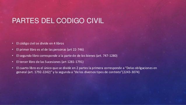 Derecho civil i 1 for Libro cuarto del codigo civil