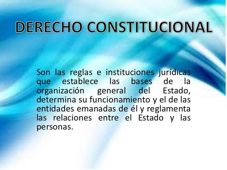 Derecho constitucional Slide 2
