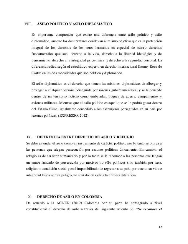 Derecho de asilo - Oficina de asilo y refugio ...