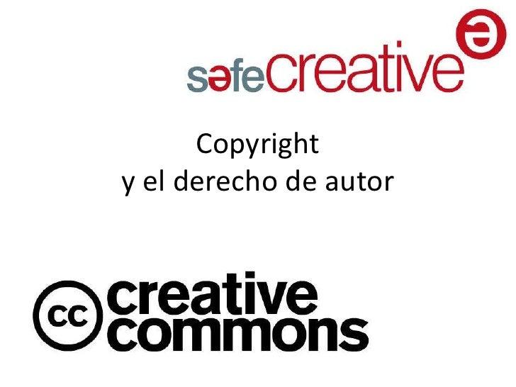 Copyrighty el derecho de autor<br />