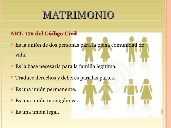 Matrimonio Uruguay Codigo Civil : Derecho de familia