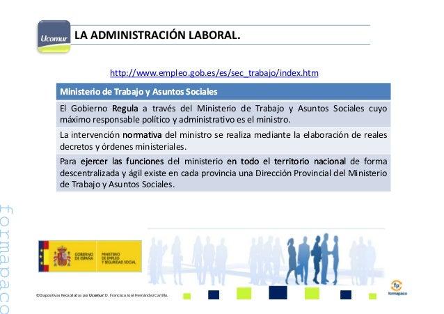 Ministerio de empleo y seguridad social seg sociales for Pagina web ministerio interior