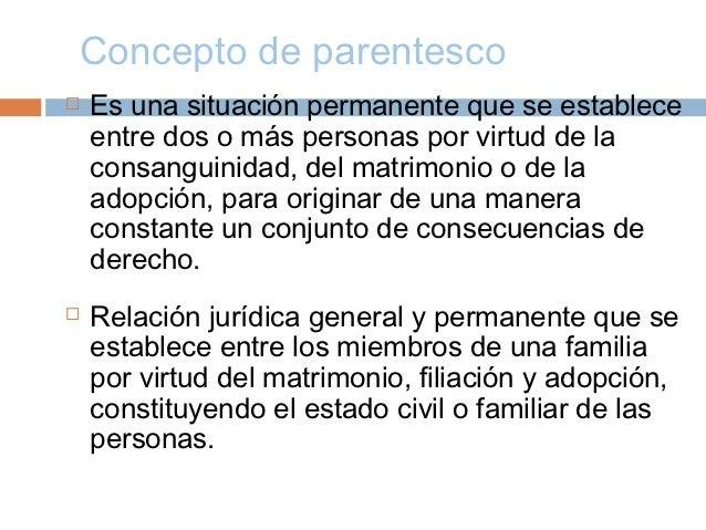 derecho familiar conceptos generales actualizado