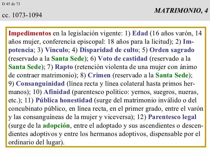 Matrimonio Catolico Por Disparidad De Culto : Derecho iglesia matrimonio