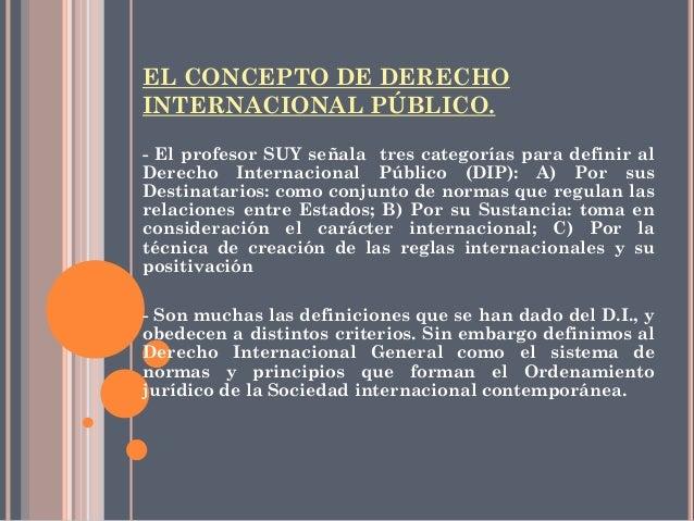 Derecho internacional p blico clase for Significado de exterior