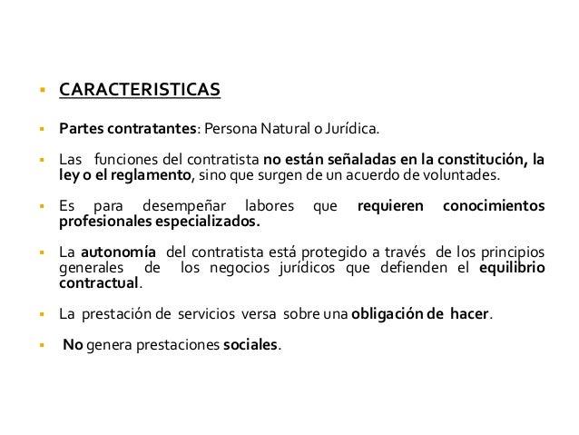 Derecho laboral srsrs - Que es un contratista ...