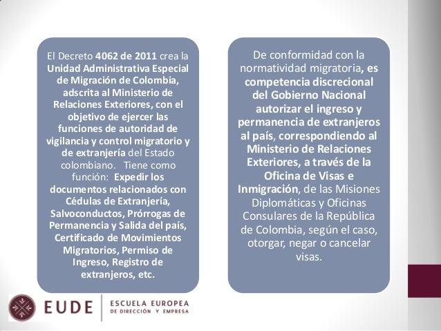 Derecho laboral en la legislaci n colombiana marisol cruz for Registro viajeros ministerio exteriores