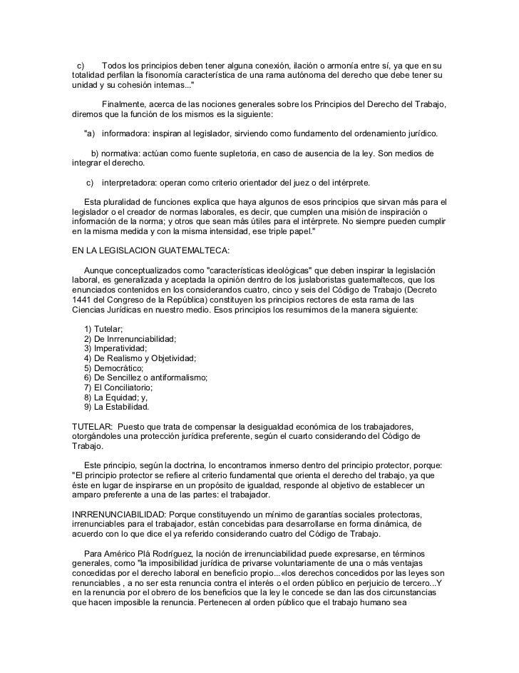 Derecho laboral guatemalteco Slide 2
