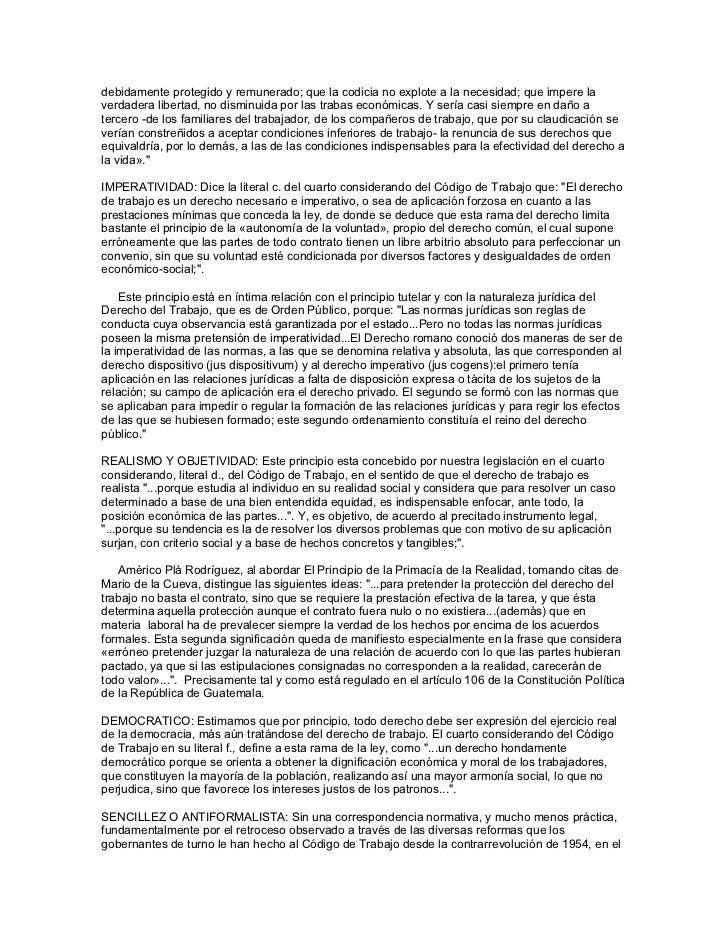 Derecho laboral guatemalteco Slide 3