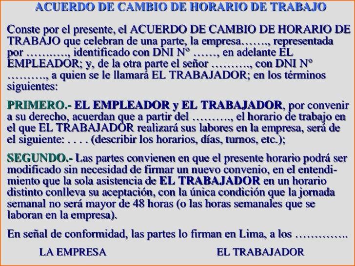 Derecho laboral i for Horario de oficina de empleo