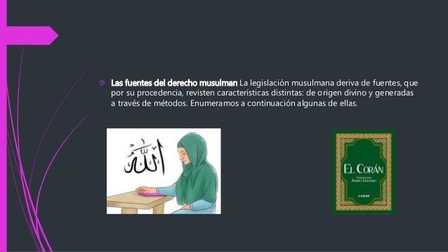 musulmán Derecho