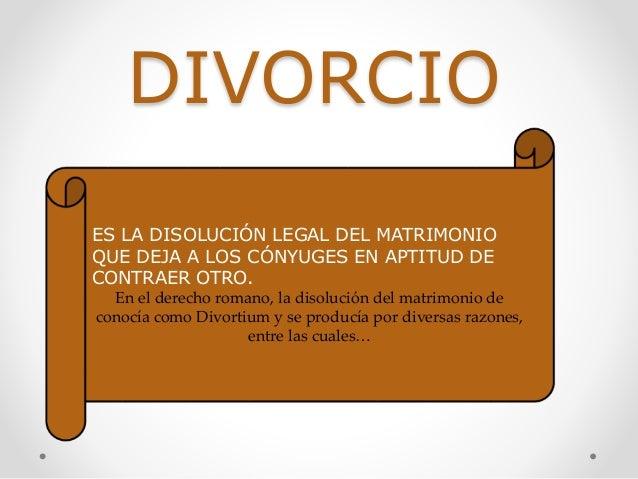 Matrimonio Romano Y Venezolano : Derecho romano