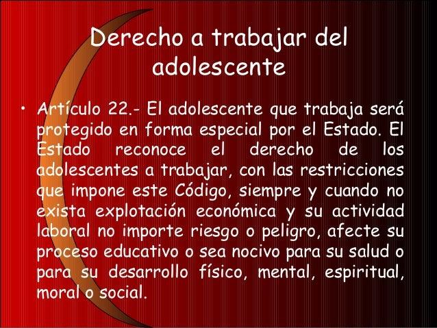 DERECHOS DE LOS NIÑOS YADOLESCENTES DISCAPACITADOS• Artículo 23.- Derechos de los niños yadolescentes discapacitados.- Ade...
