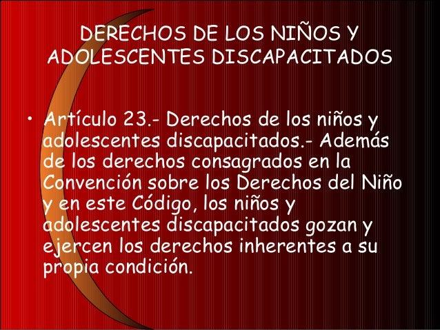CAPÍTULO IVDEBERES DE LOS NIÑOS YADOLESCENTESArtículo 24.- Deberes.- Son deberesde los niños y adolescentes: