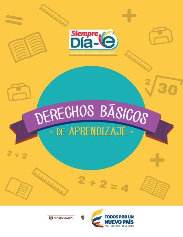 Derechos basicos de aprendizaje colombia v2