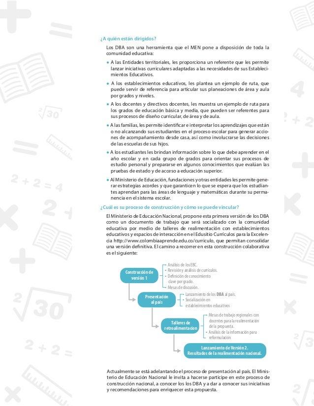 Derechos básicos matemáticas pdf