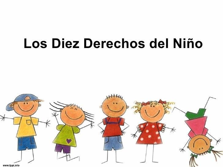 Los  Diez Derechos del Niño