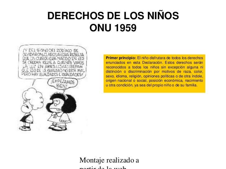 Derechos de los ninos for Derechos de los jovenes