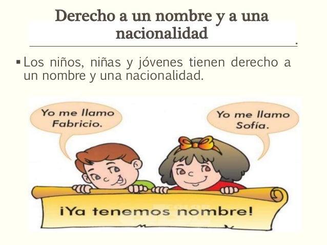 Dibujos De NiÑos Por Nacionalidades: Derecho A Un Nombre Y Una Nacionalidad
