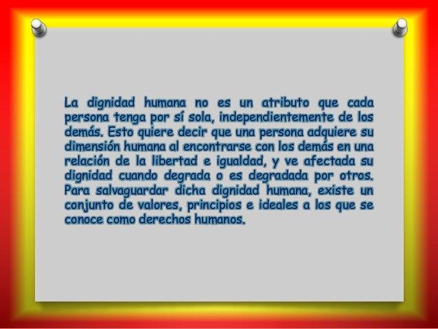 Derechos Humanos Slide 3