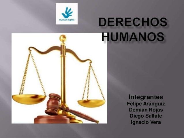 Integrantes Felipe Aránguiz Demian Rojas Diego Salfate Ignacio Vera