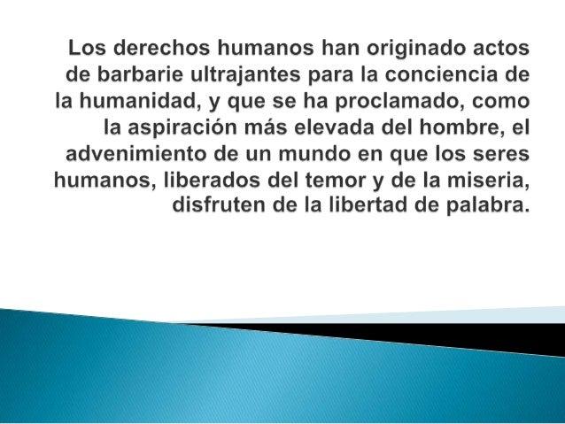   Todos los pueblos y naciones deben    esforzarse, a fin de que tanto los individuos    como las instituciones, inspirá...