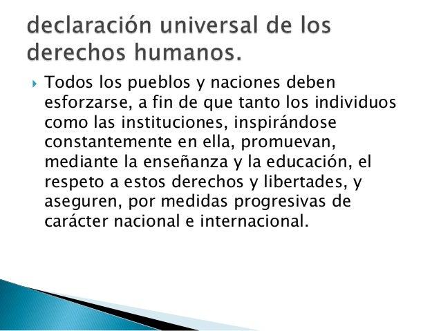 Artículo 1.                           Todos los seres humanos nacen                           libres e iguales en dignidad...