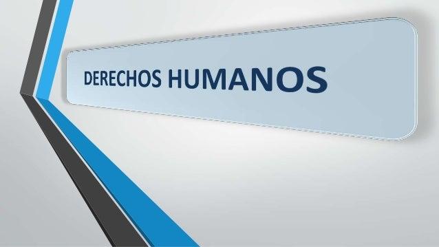 Los derechos humanos son garantías esenciales para que podamos vivir como seres humanos. Sin ellos no podemos cultivar ni ...