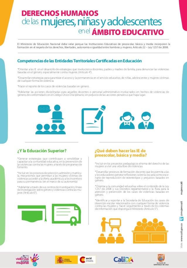 *Orientar a las IE en el desarrollo de estrategias que involucren a docentes, padres y madres de familia, para denunciar l...