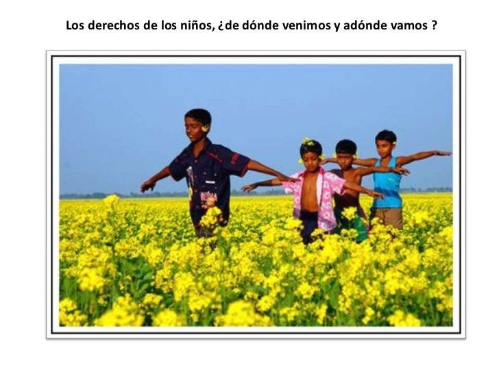 Derechos infancia y adolescencia hoy Slide 2