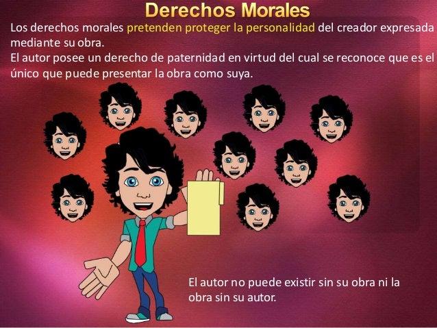 Derechos morales de autor for Derecho de paternidad