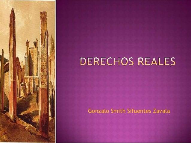 Gonzalo Smith Sifuentes Zavala