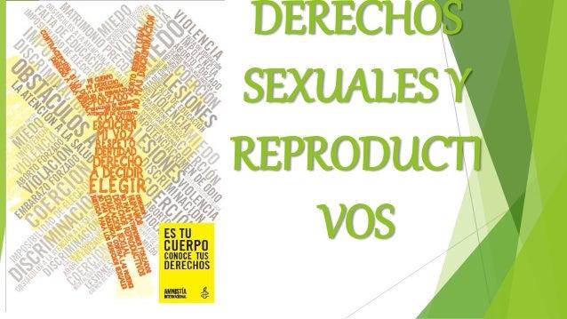 DERECHOS SEXUALES Y REPRODUCTI VOS