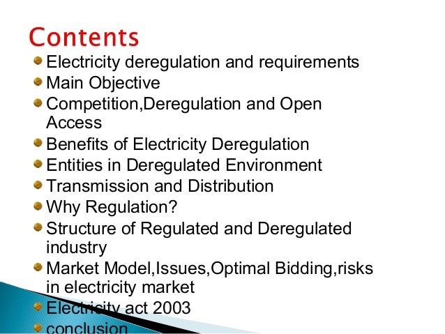 Is It Time to Deregulate All Electric Utilities?