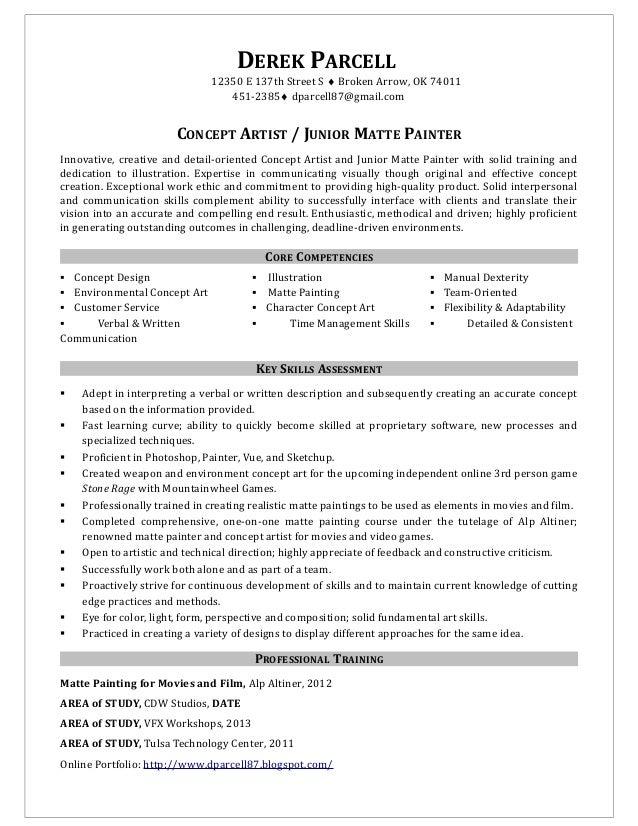 Derek parcell-resume