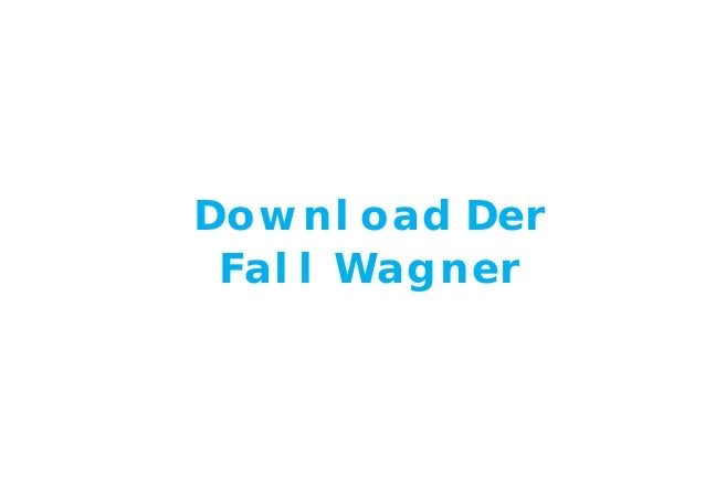 Download Der Fall Wagner