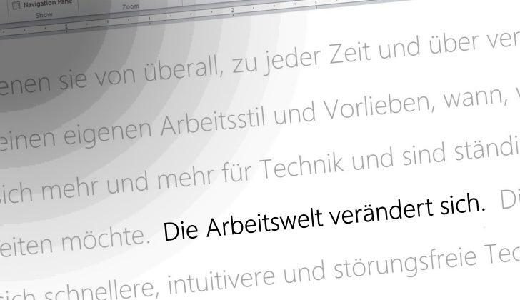 Der flexible Arbeitsplatz von Microsoft - Windows 8 Slide 2