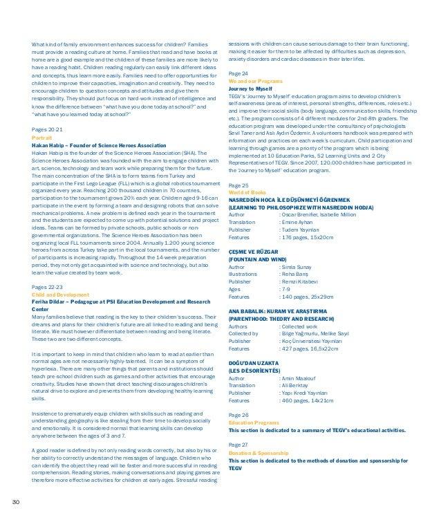 TEGV Kurumsal Dergi-Nisan