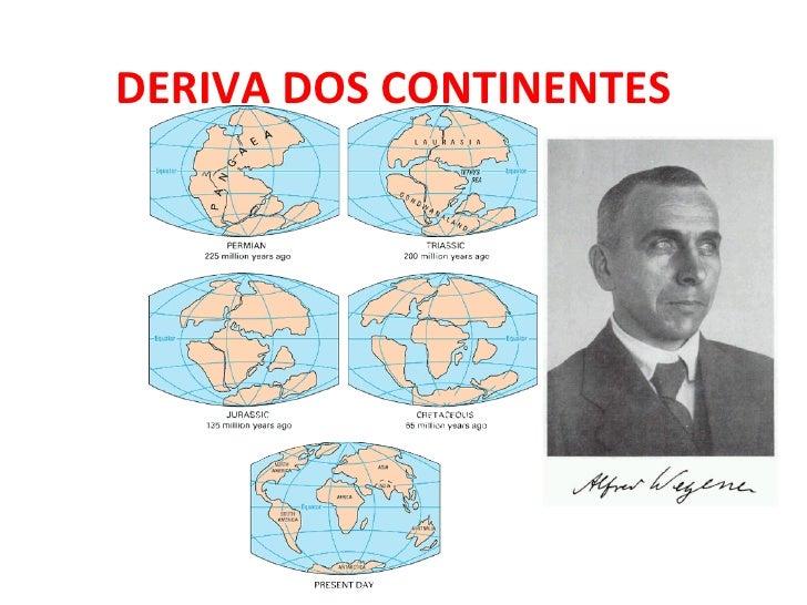 DERIVA DOS CONTINENTES