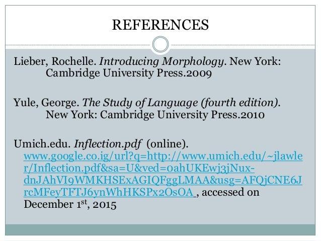 the study of language george yule 6th edition pdf