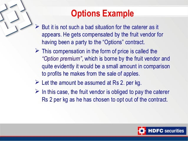 Option trading simplified