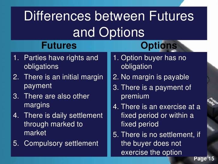 Content: Forward Contract Vs Future Contract