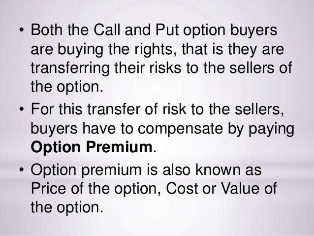 If you sell a put option seller