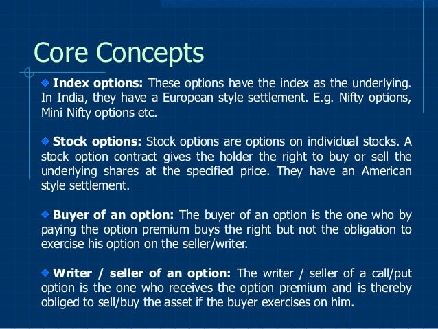 Option trading strategy ppt